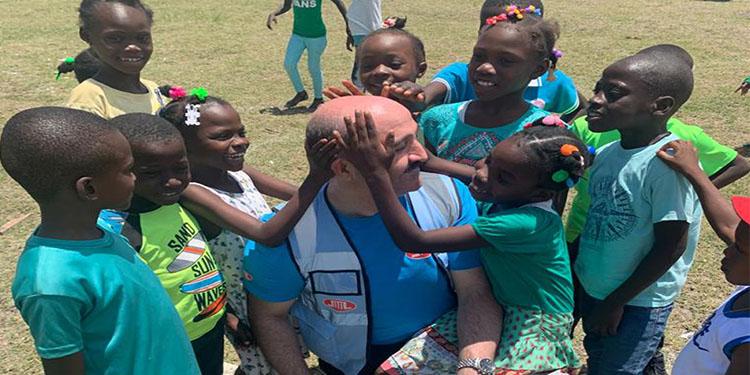 DİTİB'İN iyilik eli dünyanın en fakir ülkelerinden Haiti'ye uzandı