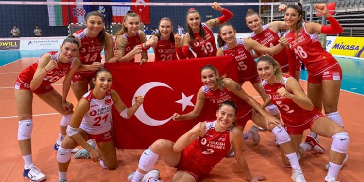 16 Yaş Altı Kız Milli Voleybol Takımı'nın Avrupa Şampiyonası'ndaki rakipleri belli oldu