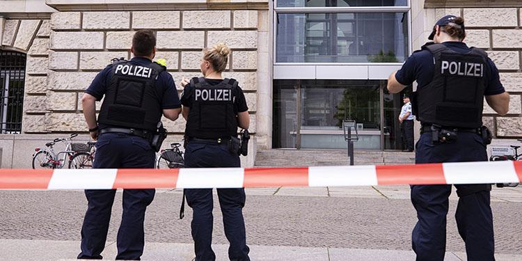 """Polisler """"Hitler"""" selamı vermiş"""