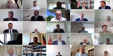 DİTİB, 18. Olağan Genel Kurul toplantısı ilk kez dijital ortamda online olarak gerçekleştirildi