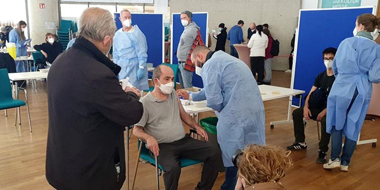 Camide ikinci aşı kampanyası