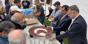 DİTİB'de Muharrem ayı dolayısıyla aşure dağıtıldı