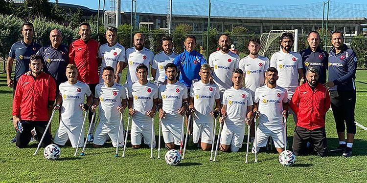 Ampute Milli Futbol Takımı'nda hedef Avrupa şampiyonluğu