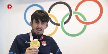"""Öztürk: """"Paris'te üçüncü altın madalyayı da alıp adımı tarihe yazdırmak istiyorum"""" (VİDEO)"""