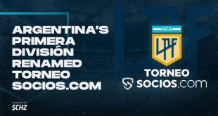 Socios Arjantin Futbol Liginin İsim Sponsoru Olmayı Başardı