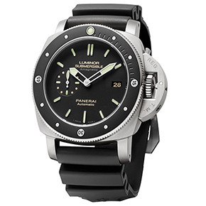 Panerai Luminor Submersible 1950 Amagnetic 3 Days Automatic Titanio