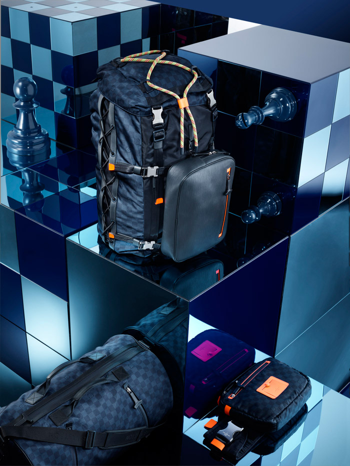 Louis Vuitton's Damier Signature Collection, Spring 2013 4