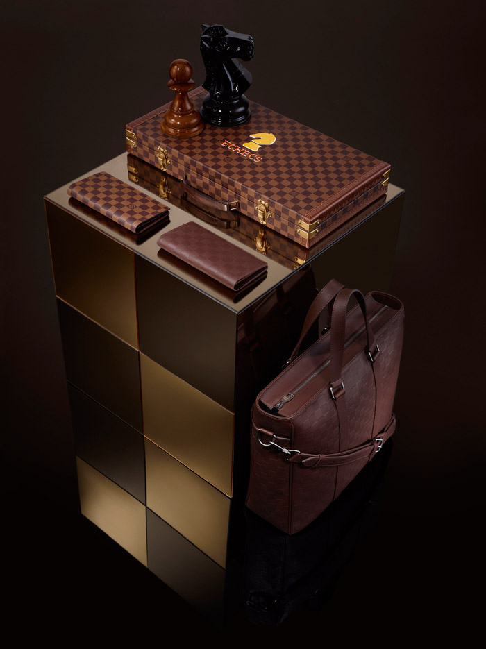 Louis Vuitton's Damier Signature Collection, Spring 2013 5