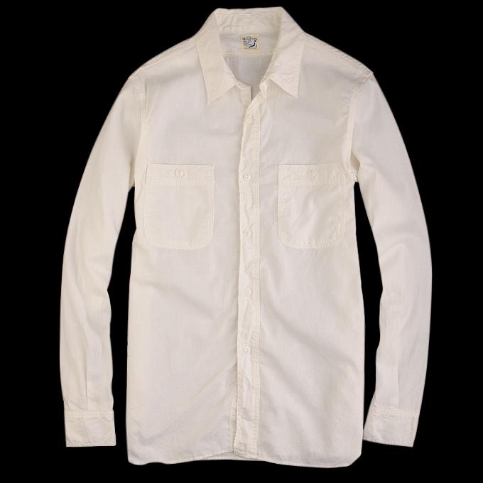 Orslow_Chambray_Shirt_White