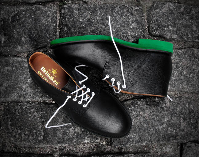 Mark McNairy Black Chukka Saddle Boots 02