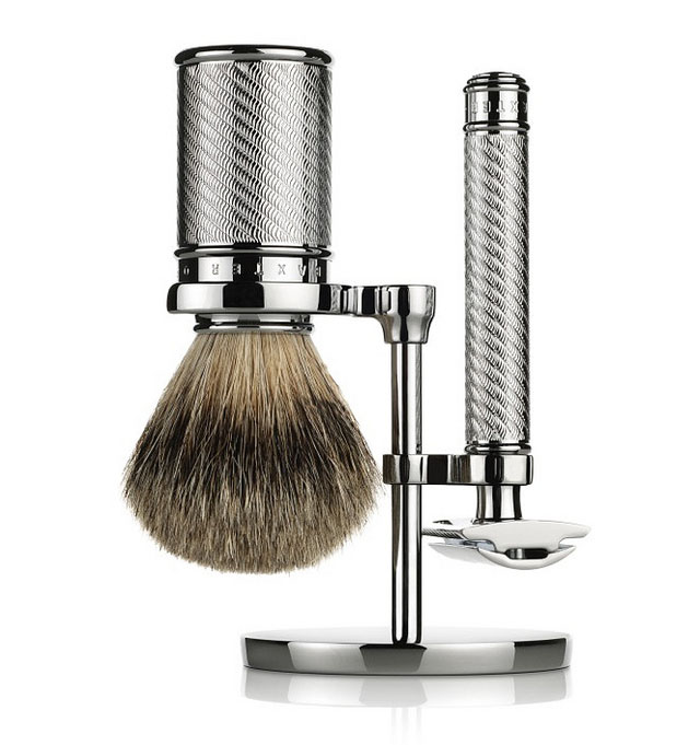 Baxter_Silver Double-Edged Safety Razor