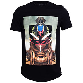 Givenchy SS14 Techno/Tribal Print T-Shirts