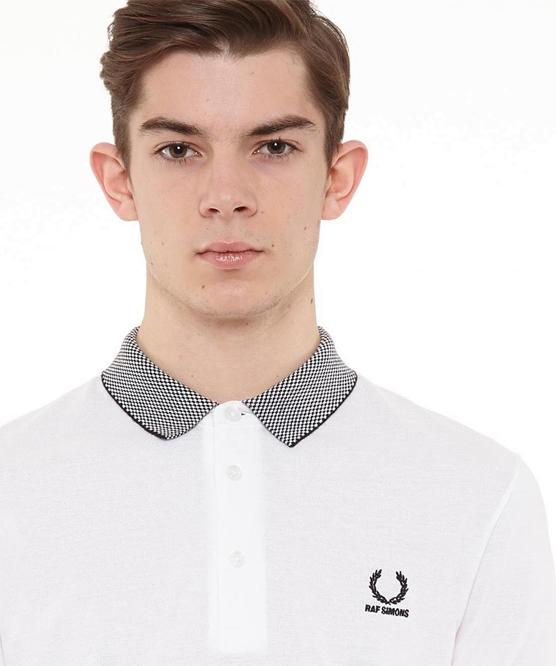 Raf x Simons Fred Perry Collection Checkerboard Collar