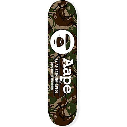 AAPE Camo Skate Deck