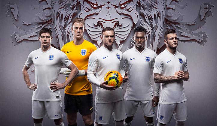 NIKE England 2014 Home & Away Kit 02