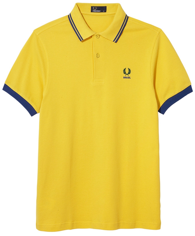 Fred Perry 2014 World Cup_BRASIL