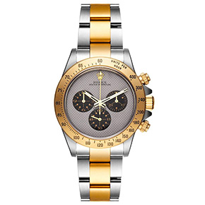 Watch Porn: Bamford Watch Dept. Bicolor Rolex Daytona