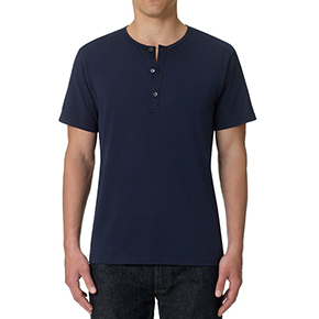 Sunspel Henley T-Shirt