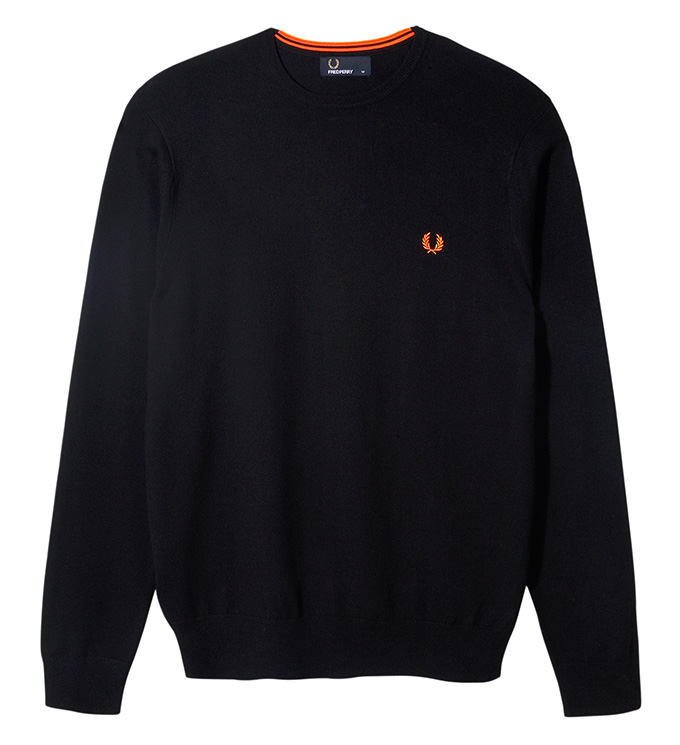 Fred Perry Soho Neon_Crew neck