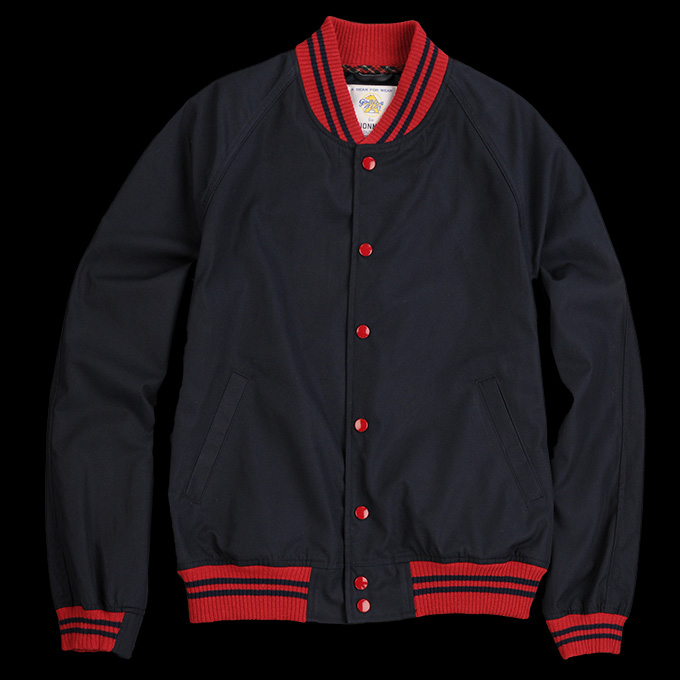 Golden Bear Saratoga Varsity Jacket_Navy