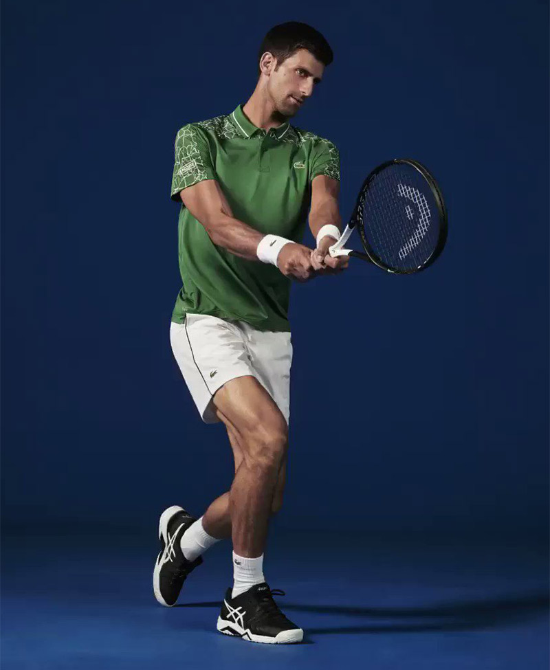 af1aee7201 Shop the Fall '18 Lacoste X Novak Djokovic collection now at lacoste.com.