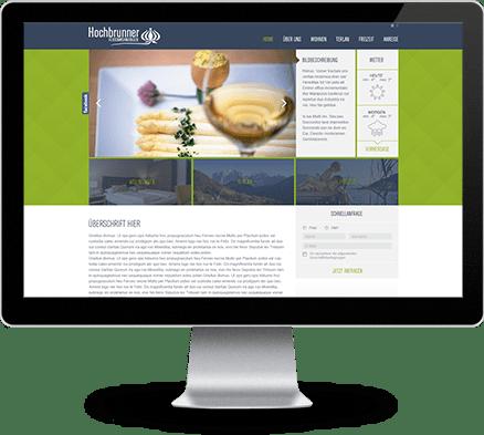 Hochbrunner Webdesign - haberer media Internet- und Werbeagentur Südtirol