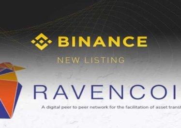 Binance Ravencoin listeleyecek