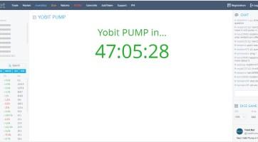 YoBit Yine Bir Kripto Parayı Pumplayacak
