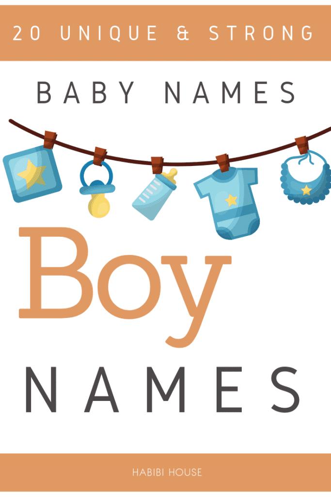 20 unique baby boy names & strong baby boy names4
