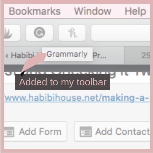 Grammarly habibi house