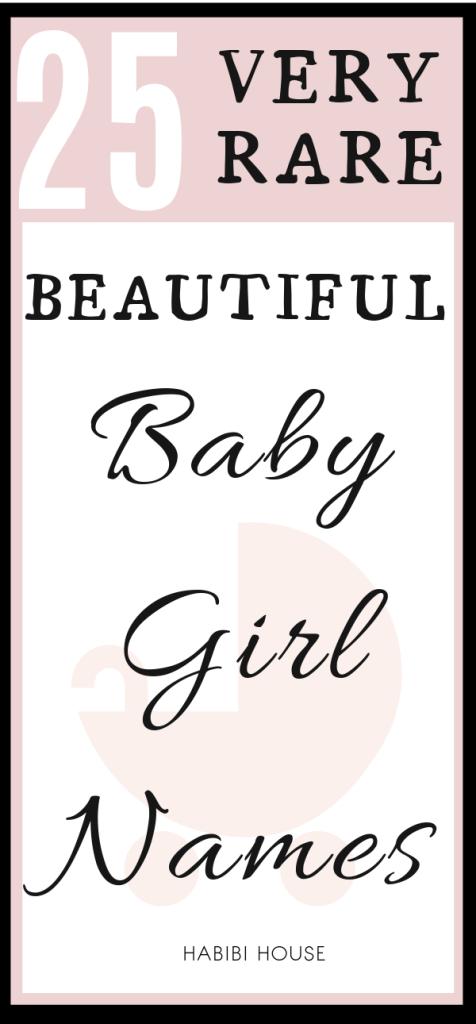 beautiful baby girl names