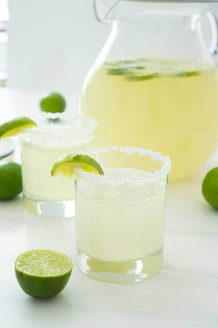 Maybe Margarita Punch - Non Alcoholic Punch for Cinco de Mayo