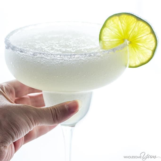 The Best Skinny Margarita Recipe - Sugar Free, 5 Minutes