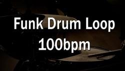 Funk Drum Loop 100bpm