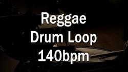 Reggae Drum Loop 140bpm
