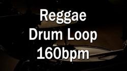 Reggae Drum Loop 160bpm