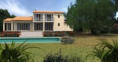 Nouvelle construction avec piscine sur Sainte-Maxime