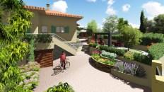 Aménagement d'un jardin sur Saint-Raphael