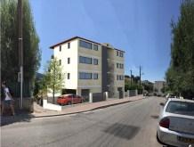 Pour Permis de Construire, intégration sur site bâtiment sur Cagnes-sur-Mer