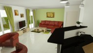 Aménagement salon / cuisine et séjour à Roquebrune sur Argens