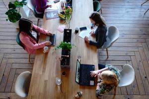 Espace de coworking / Halle des commerçants