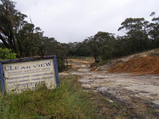 Escarpment destruction for Katoomba Golf Club