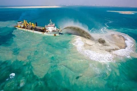 Dredging the Great Barrier Reef