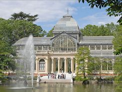 Attractions Principales Madrid Le Palais De Cristal