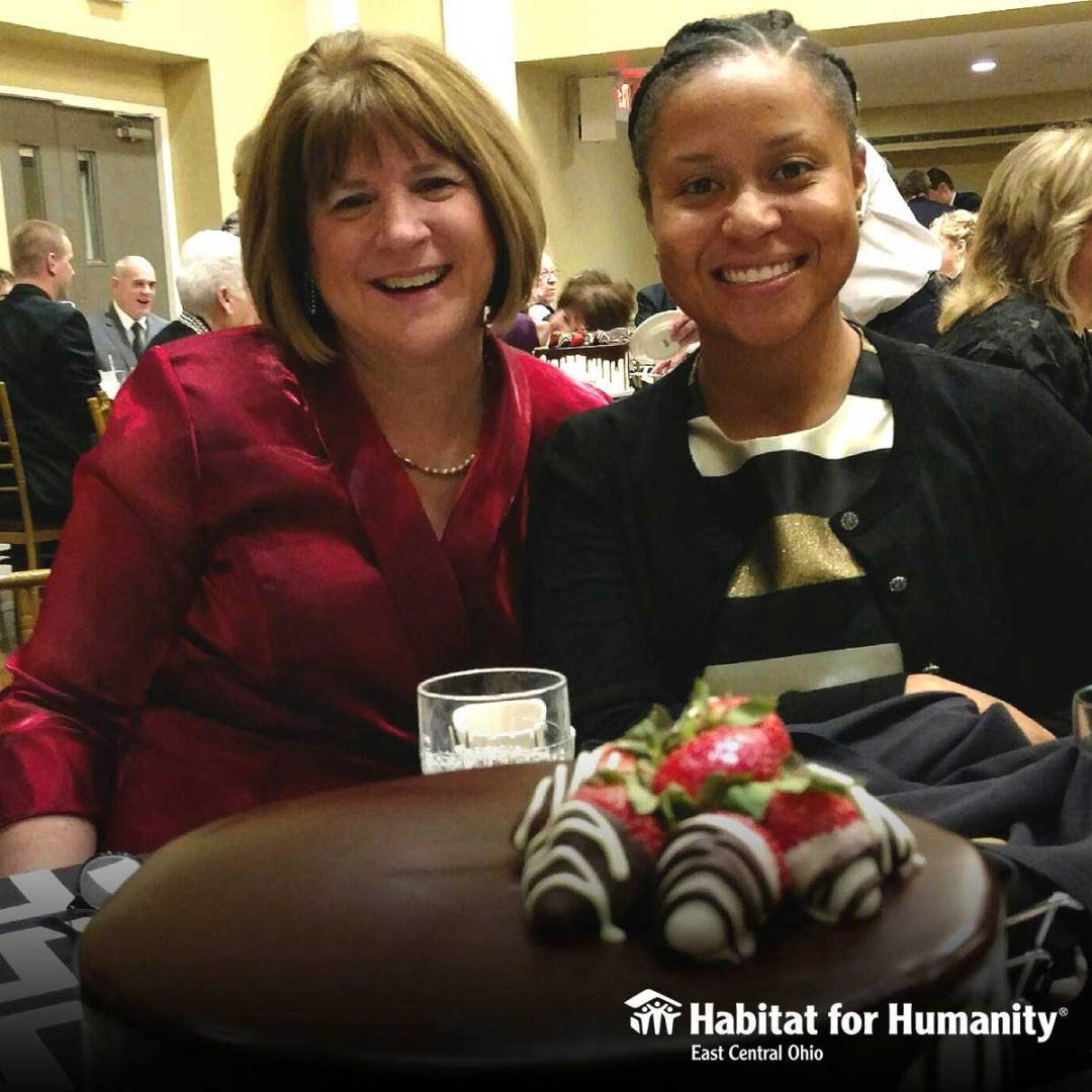 From L to R: Beth Lechner, Executive Director and Courtney Brown, Family Partnership Director