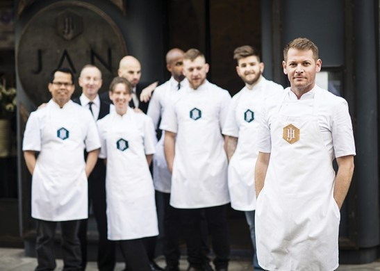Chef and team (HR)
