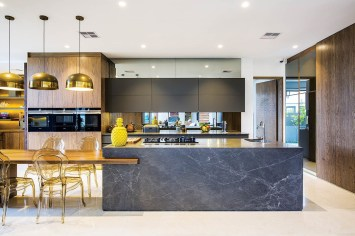 Kitchen cupboards by Kitchen Classics.