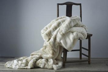 March, April Faux Fur Throws