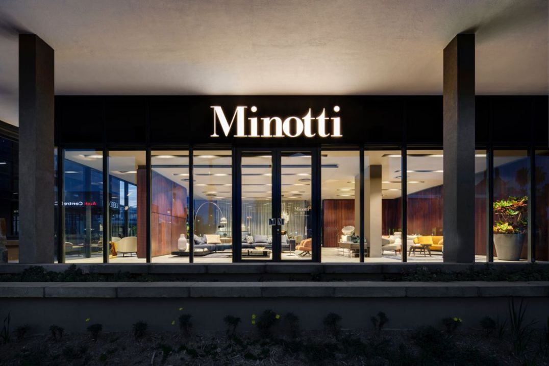 Minotti Showroom Cape Town