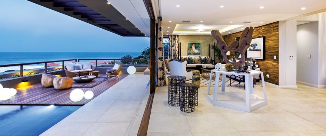 The essence of ocean-side living demands indoor / outdoor flow.